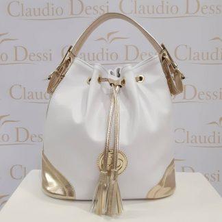 ... Claudio Dessi fehér-arany batyu a04628d983